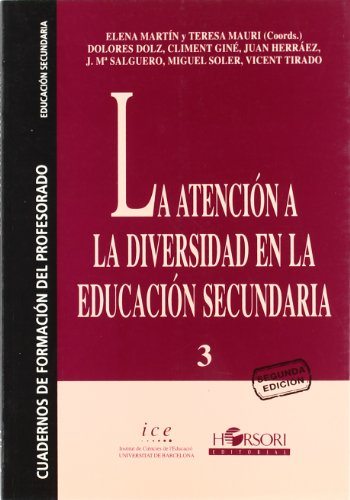 9788485840496: La atención a la diversidad en la educación secundaria (Cuadernos de formación del profesorado)