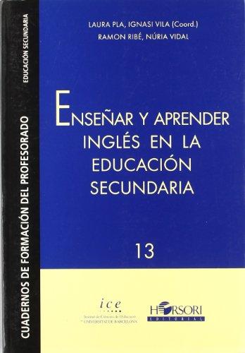 Enseñar y aprender inglàs en la: Ignasi, Coord.; Pla