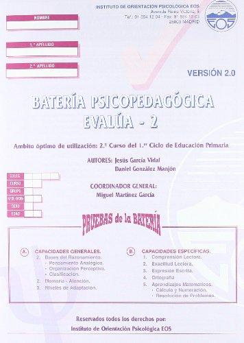 9788485851683: EVALÚA-2 (Batería) (División Test)