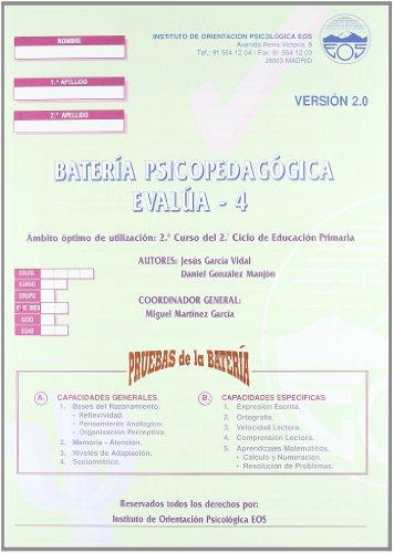 9788485851690: Evalua - 4 (División Test)