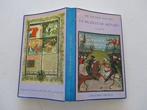9788485876402: La muerte de Arturo; t.3