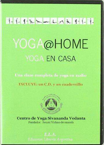 9788485895137: Yoga @ home yoga en casa (+CD) (Swami Sivananda (ela))