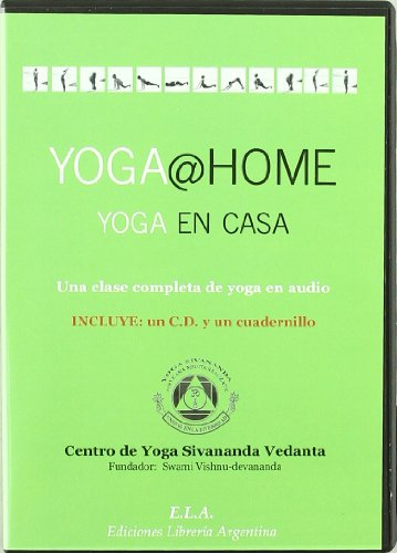 9788485895137: Yoga @ home yoga en casa (+CD)