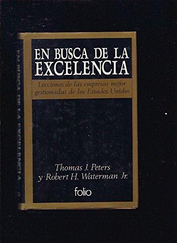 9788485902880: En Busca de La Excelencia (Spanish Edition)