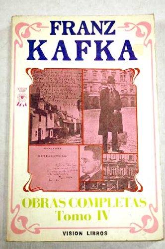 Obras Completas (Novelas-Cuentos-Relatos) Tomo I (9788485958474) by Franz Kafka