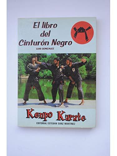 9788485977376: Kempo karate (el libro del cinturon negro)