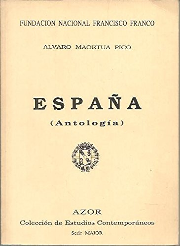 9788485993154: España (antología).