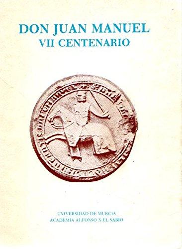 9788486031190: Don Juan Manuel :VI centenario