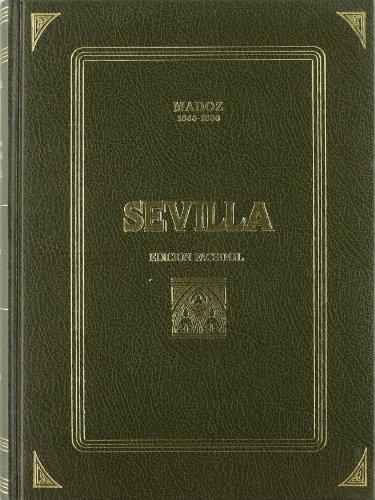 9788486047733: Sevilla: dicc. geografico-estadistico-historico de Andalucía