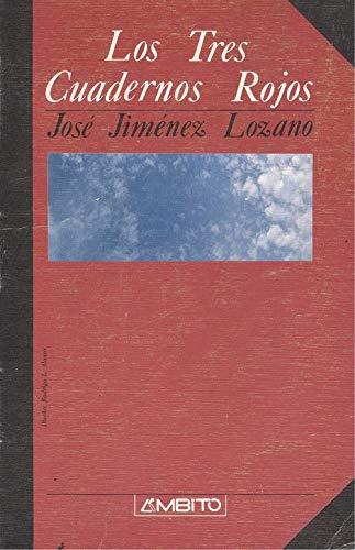 9788486047740: Tres cuadernos rojos, los (Letras Ambito)