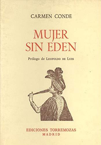9788486072346: Mujer sin Eden (Coleccion Torremozas) (Spanish Edition)