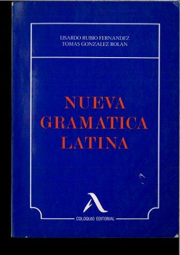 9788486093174: Nueva gramatica latina