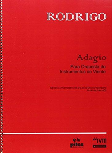 9788486106690: Adagio para Orquesta Instrum. de Viento