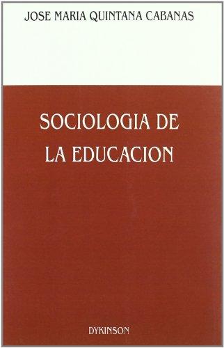 9788486133658: Sociología de la educación (Spanish Edition)