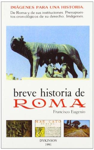 9788486133672: Breve Historia De Roma