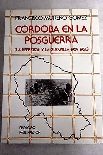 9788486137137: Córdoba en la posguerra
