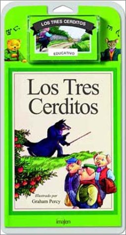 9788486154080: Los Tres Cerditos/The Three Little Pigs - Libro y Cassette (Spanish Edition)