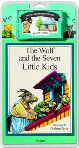 The Wolf and the Seven Little Kids - Book and Tape (8486154375) by Graham Percy
