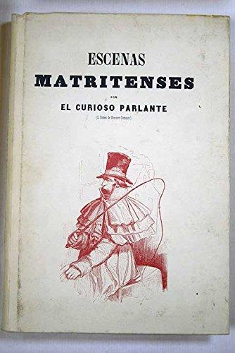 9788486159078: Escenas matritenses