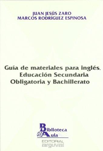 9788486167950: Guía de materiales para inglés : ESO y Bachillerato