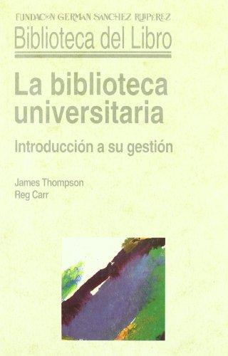 9788486168476: Biblioteca Universitaria