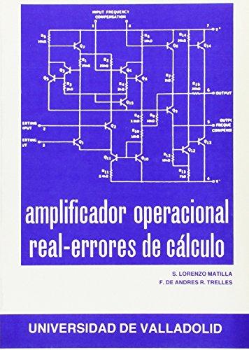 9788486192501: Amplificador Operaciónal Real. Errores de Cálculo