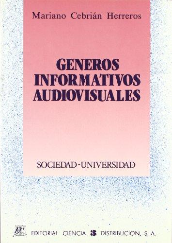 9788486204426: Genero Informativo