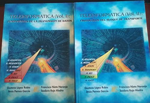 9788486204808: Teleinformatica Vol I Y Ii