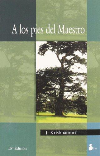 9788486221096: A Los Pies del Maestro (To the Master's Feet)