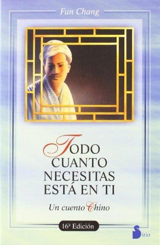 9788486221355: TODO CUANTO NECESITAS ESTA EN TI (Ant. Ed.) (2005)