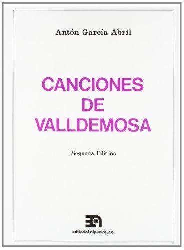 9788486230265: CANCIONES DE VALLDEMOSA 2ED