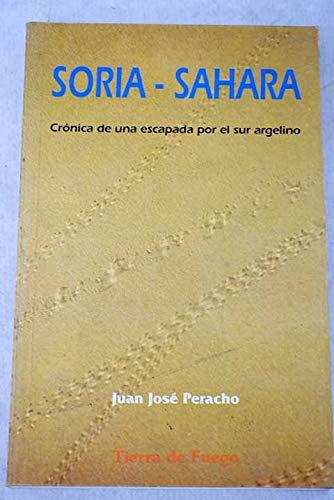 9788486233433: Soria, sahara
