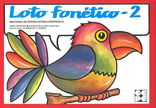 Loto fonético 2. Material de reeducación logopédica: Adoracion Juarez Sanchez,