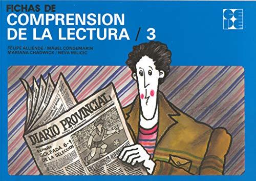 FICHAS DE COMPRENSION DE LA LECTURA. 3: Condemarin, Mabel