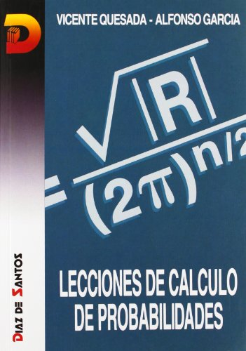 9788486251840: Lecciones De Cálculo De Probabilidades