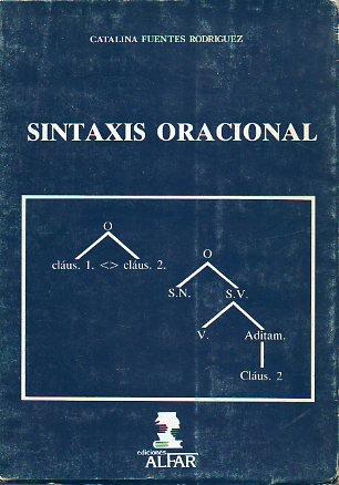 9788486256142: Sintaxis oracional