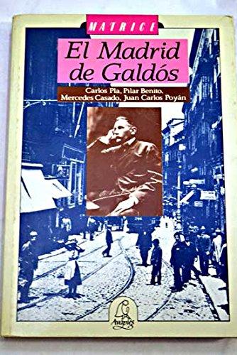 EL MADRID DE GALDÓS: V.V.A.A.
