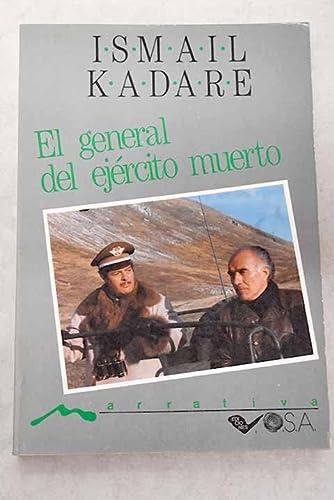 9788486293413: General del ejercito muerto,el
