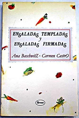 9788486305260: ENSALADAS TEMPLADAS Y ENSALADAS FIRMADAS