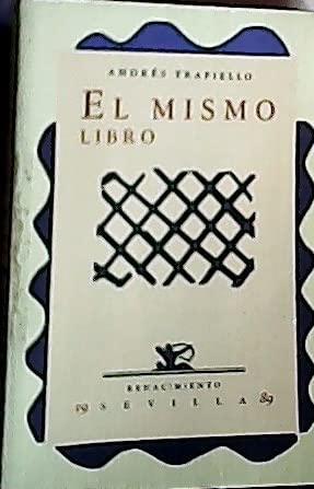 9788486307257: Mismo Libro Poesia (Renacimiento)