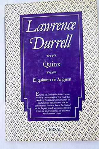 9788486311339: Quinx (Biblioteca del corondel)