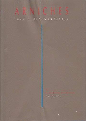 9788486314613: Arniches (El Escritor alicantino y la crítica) (Spanish Edition)
