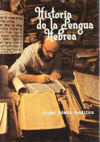 9788486329327: Historia De La Lengua Hebrea