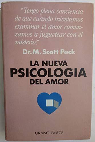 9788486344375: La nueva psicología del amor