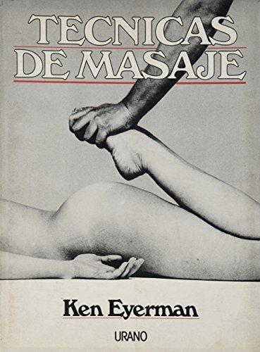 9788486344528: Técnicas de masaje