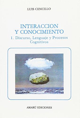 9788486368104: INTERACCION Y CONOCIMIENTO I