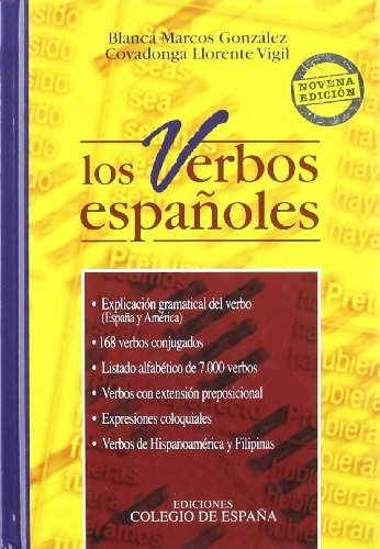 9788486408275: Verbos Españoles, Los