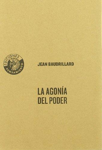 9788486418694: Agonia Del Poder,La