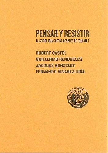 9788486418700: Pensar Y Resistir Sociologia Crit