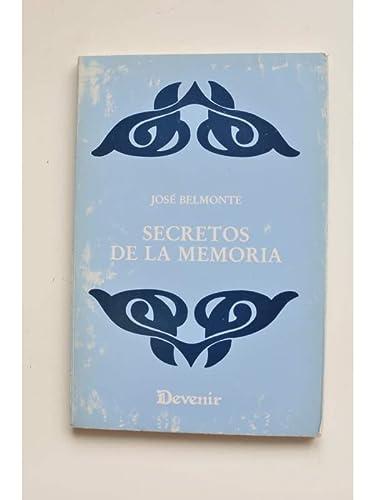 9788486419226: Secretos de la memoria